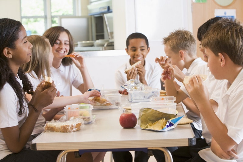 Grab-and-go service is essential for keeping students fed during the busy school day.
