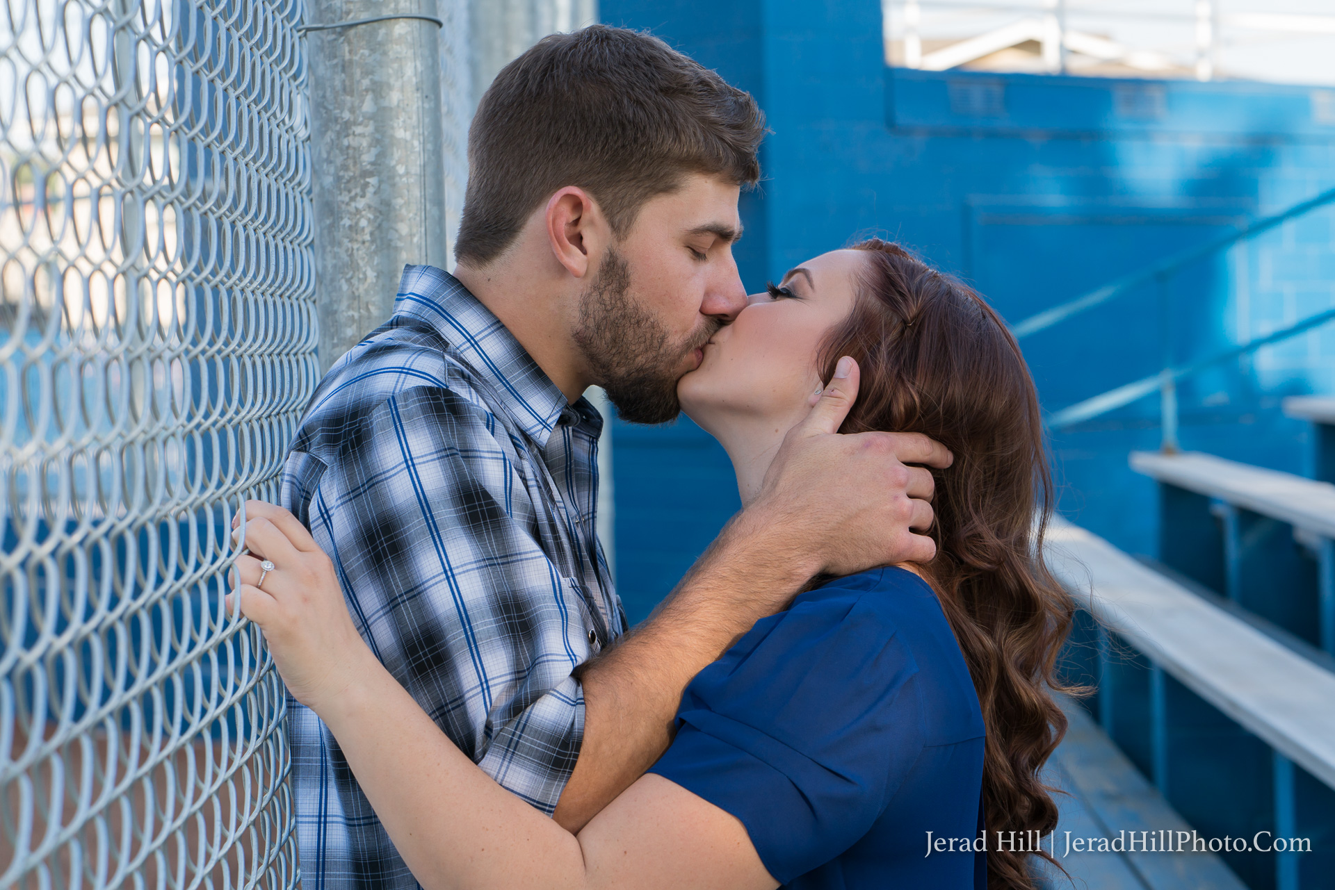 Kirk & Amy - Modesto Engagement Portraits