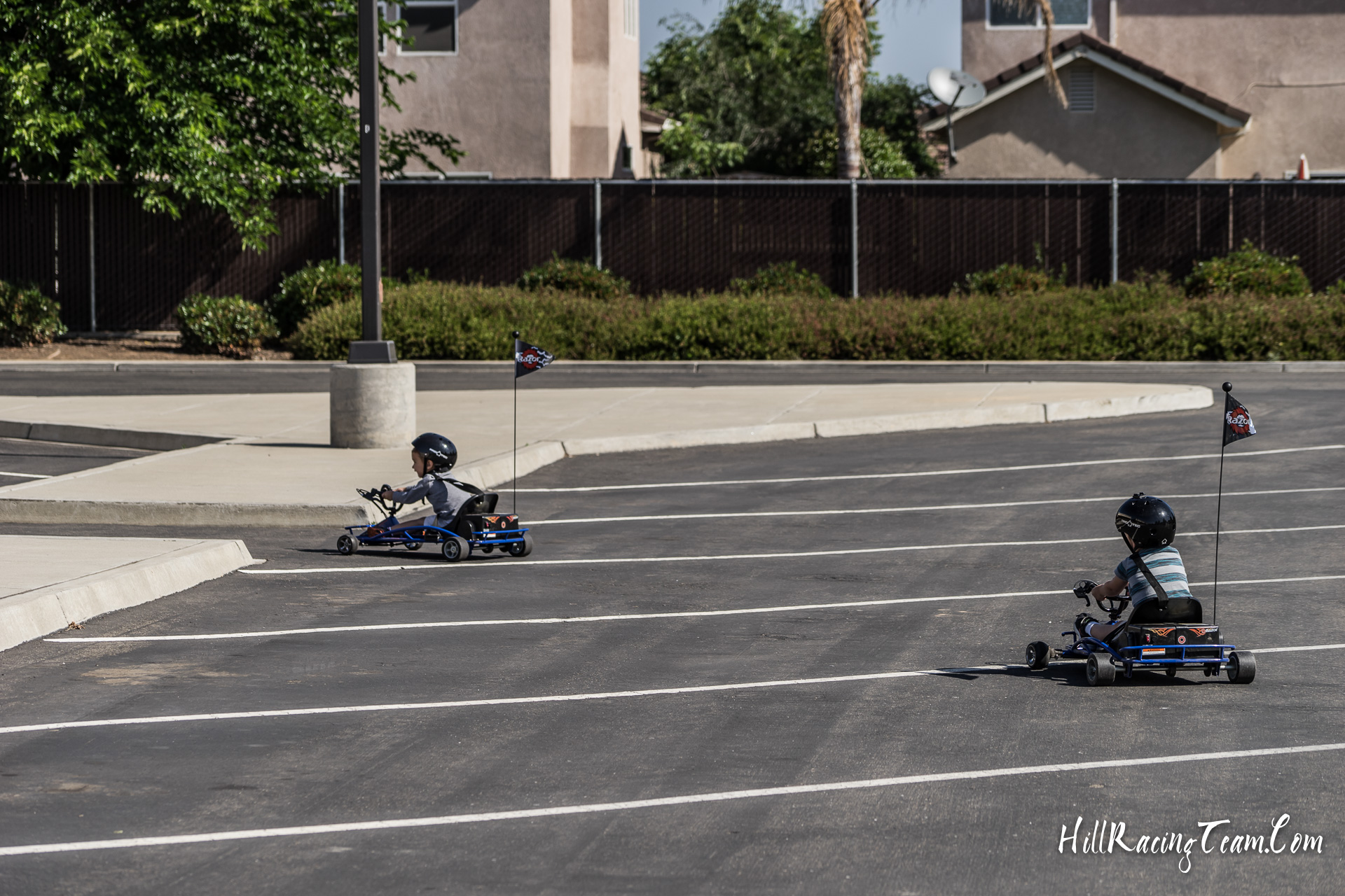 Razor Drifter Kart Racing Parking Lot Hill Racing Team