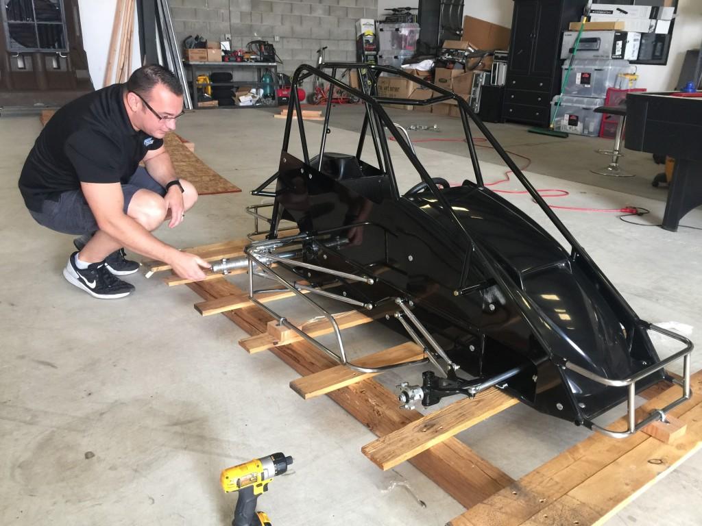 Sherman Racecars Quarter Midget Unboxing