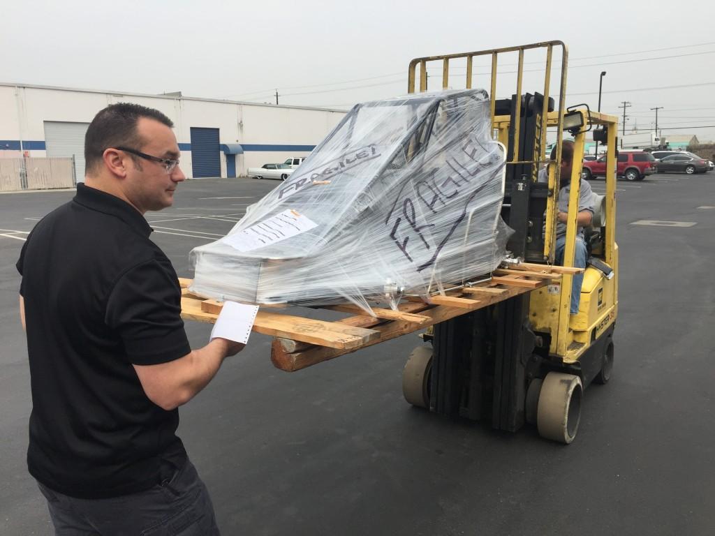 Sherman Racecars Quarter Midget Delivery