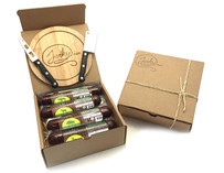 Exotic Summer Sausage Gift Box with Knife Set