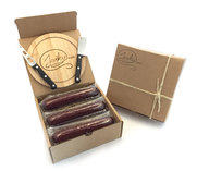 Beef Summer Sausage Gift Box with Knife Set