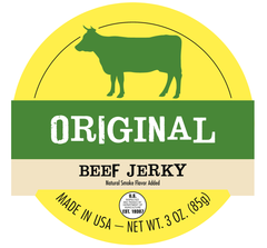 All Natural Beef Jerky - 1 Pound Bag