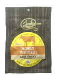 honey teriyaki soft and tender brisket style beef jerky