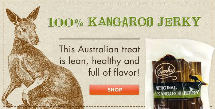 Kangaroo-jerky