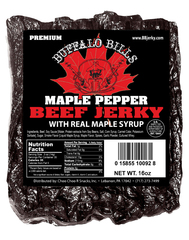 Premium Maple Pepper Beef Jerky Pieces