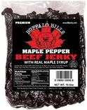 Premium Maple Pepper Beef Jerky Strips