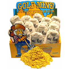 Gold Mine Nuggets Bubble Gum - 24 bags