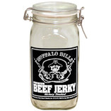 Buffalo Bills Glass Mason Display Jar