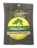 rainbow trout jerky