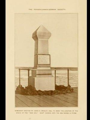 Original New Era Memorial-Monument at 7th ave and boardwalk asbury park nj