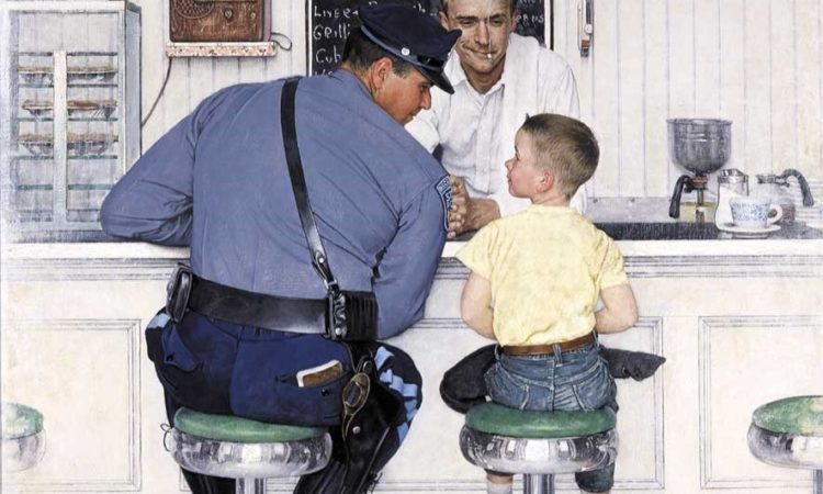 Norman Rockwell The-Runaway