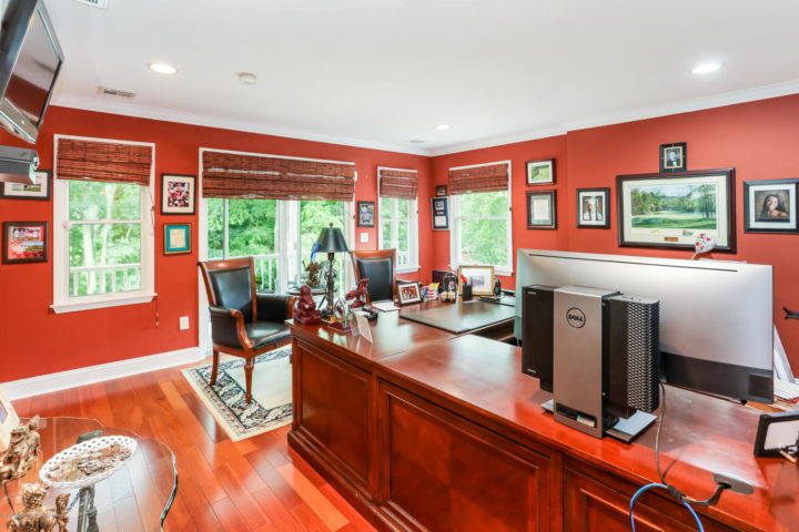 Two OFFICE SPACES make perfect to work at home and The GUEST WING of the home is IDEAL FOR EXTENDED FAMILY AND INCLUDES TWO PRIVATE MASTER ENSUITES EACH WITH PRIVATE LIVING ROOMS, PRIVATE BATHROOMS AND KITCHENETTES