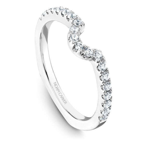 White Gold Engagement Ring With An Oval Centerpiece And 52 Diamonds. Image 5 Barron's Fine Jewelry Snellville, GA