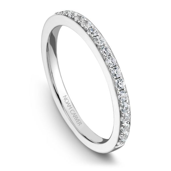White Gold Engagement Ring With 30 Diamonds. Image 5 Barron's Fine Jewelry Snellville, GA