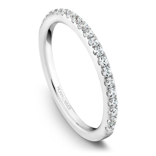 White Gold Engagement Ring With 22 Diamonds. Image 5 Barron's Fine Jewelry Snellville, GA