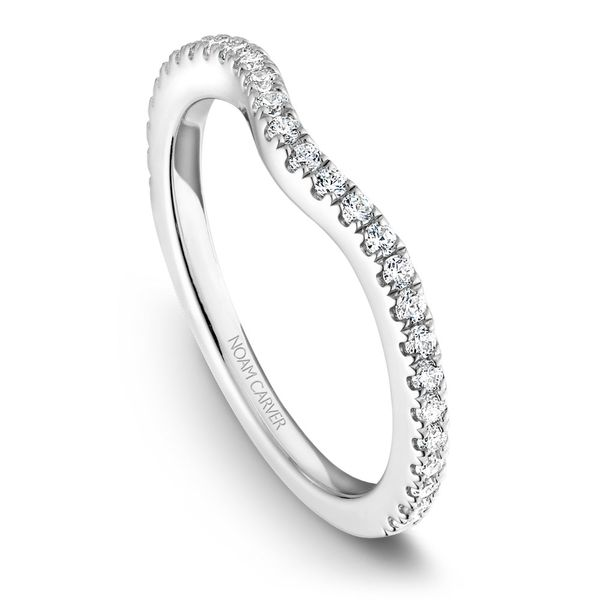 White Gold Engagement Ring With 34 Diamonds. Image 5 Barron's Fine Jewelry Snellville, GA