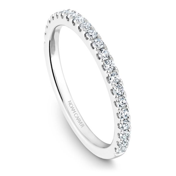 White Gold Engagement Ring With 20 Diamonds. Image 5 Barron's Fine Jewelry Snellville, GA