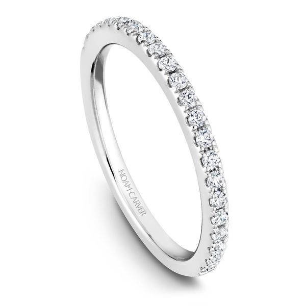 White Gold Engagement Ring With 18 Diamonds. Image 5 Barron's Fine Jewelry Snellville, GA