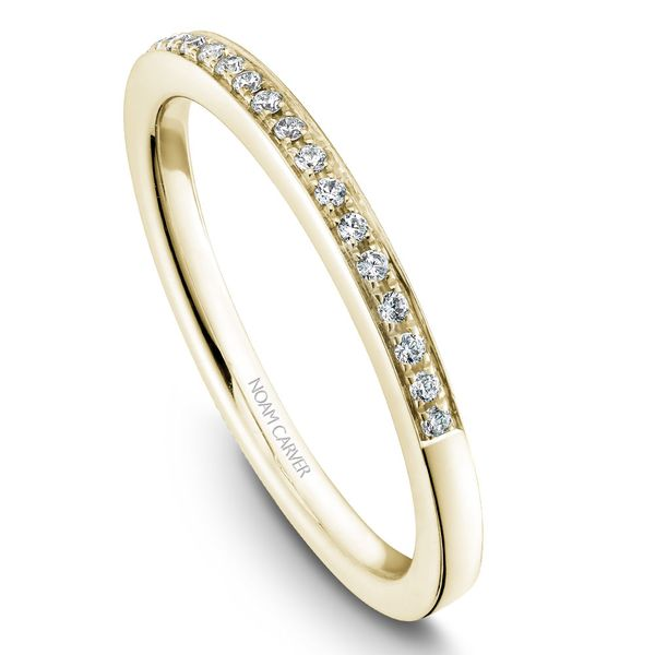 Yellow Gold Engagement Ring With 46 Diamonds. Image 5 Barron's Fine Jewelry Snellville, GA