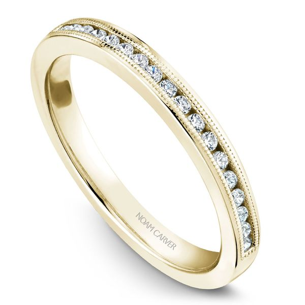 Yellow Gold Engagement Ring With 16 Diamonds. Image 5 Barron's Fine Jewelry Snellville, GA