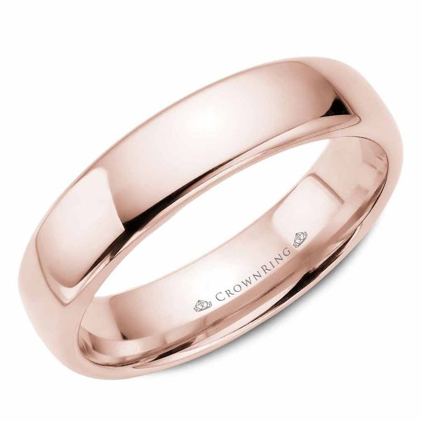 5.5mm 14KW M Wedding band Barron's Fine Jewelry Snellville, GA