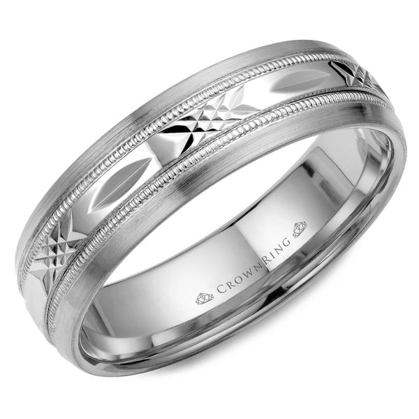 6mm 14KW M Wedding band Barron's Fine Jewelry Snellville, GA