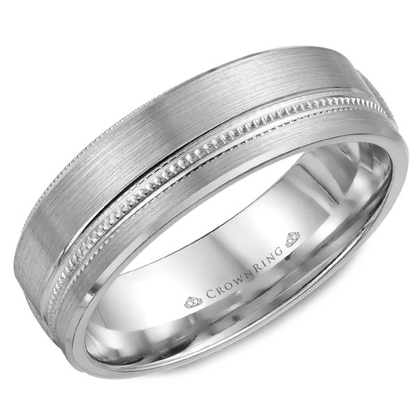 6.5mm 14KW M Wedding band Barron's Fine Jewelry Snellville, GA