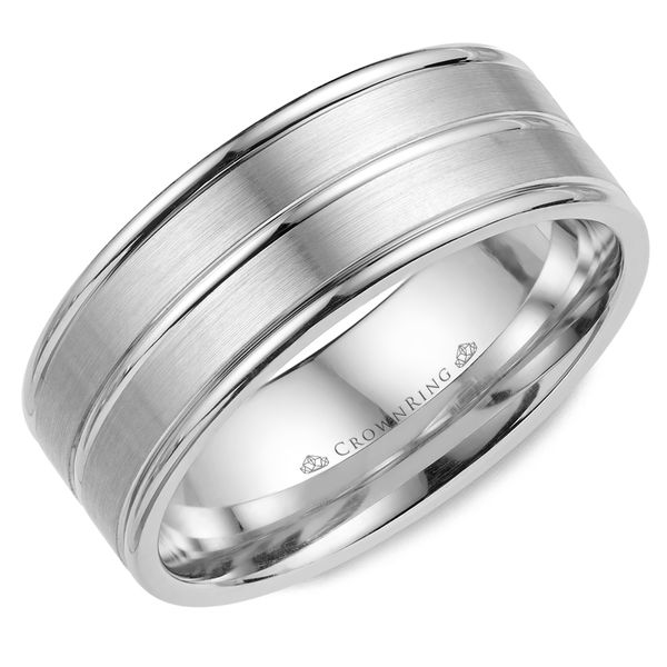 8mm 14KW M Wedding band Barron's Fine Jewelry Snellville, GA