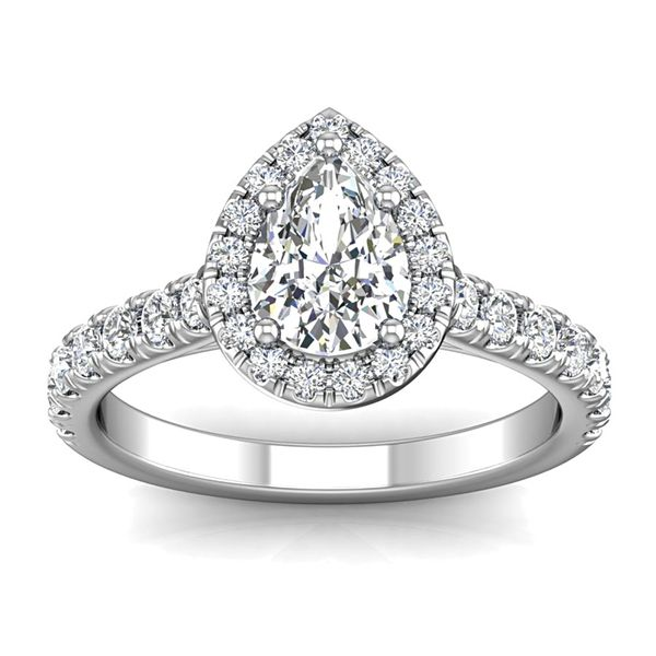 Bremer Jewelry BeLoved 14k White Gold Diamond Engagement Ring Bremer Jewelry Peoria, IL