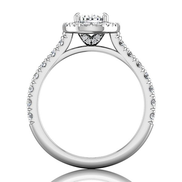 Bremer Jewelry BeLoved 14k White Gold Diamond Engagement Ring Image 3 Bremer Jewelry Peoria, IL