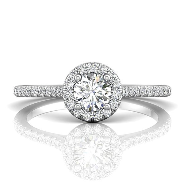 Bremer Jewelry BeLoved 14k White Gold Diamond Engagement Ring Image 2 Bremer Jewelry Peoria, IL