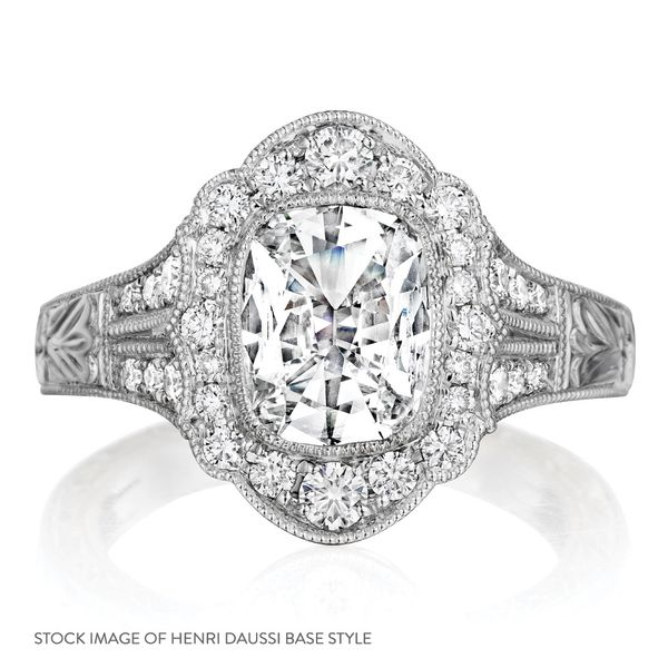 Henri Daussi Diamond Engagement Ring (1.08 ctw) Image 4 Bremer Jewelry Peoria, IL
