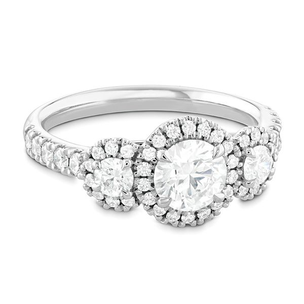 Hearts On Fire Integrity White Gold Diamond Engagement Ring Setting Image 2 Bremer Jewelry Peoria, IL