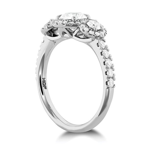 Hearts On Fire Integrity White Gold Diamond Engagement Ring Setting Image 3 Bremer Jewelry Peoria, IL