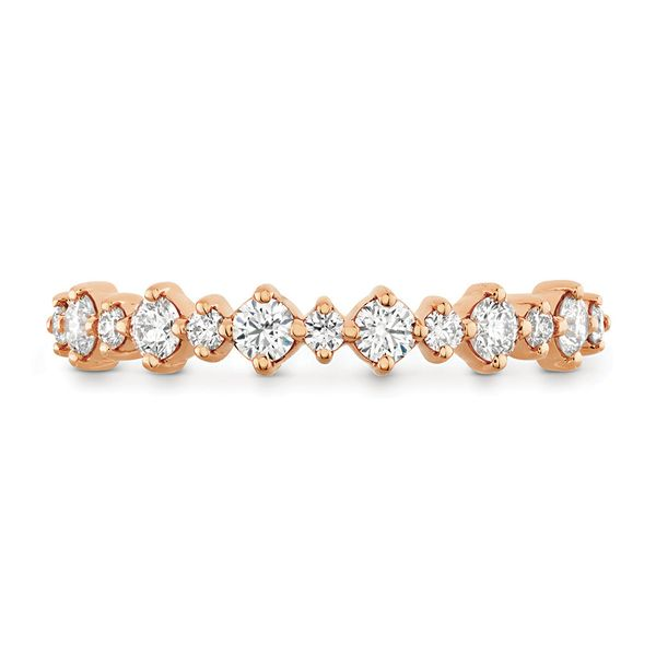 Hearts On Fire Rose Gold Diamond Wedding Band Bremer Jewelry Peoria, IL