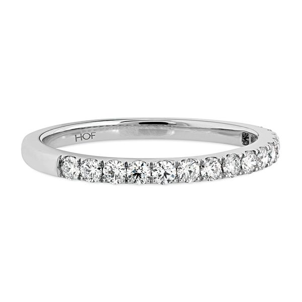 Hearts On Fire Destiny White Gold Diamond Wedding Band Image 2 Bremer Jewelry Peoria, IL