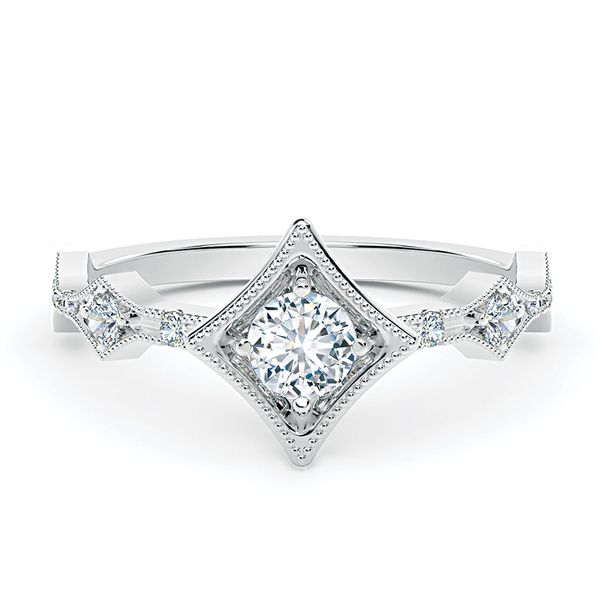 Forevermark Tribute 18k White Gold Diamond Fashion Ring Bremer Jewelry Peoria, IL