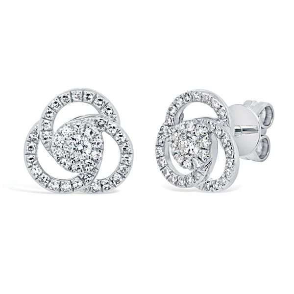 Bremer Jewelry Time & Eternity White Gold Diamond Earrings Bremer Jewelry Peoria, IL