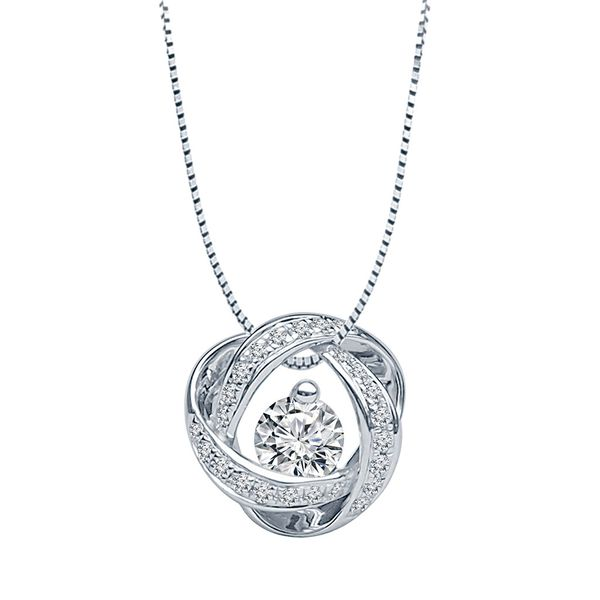 Bremer Jewelry Time & Eternity White Gold Diamond Necklace Bremer Jewelry Peoria, IL
