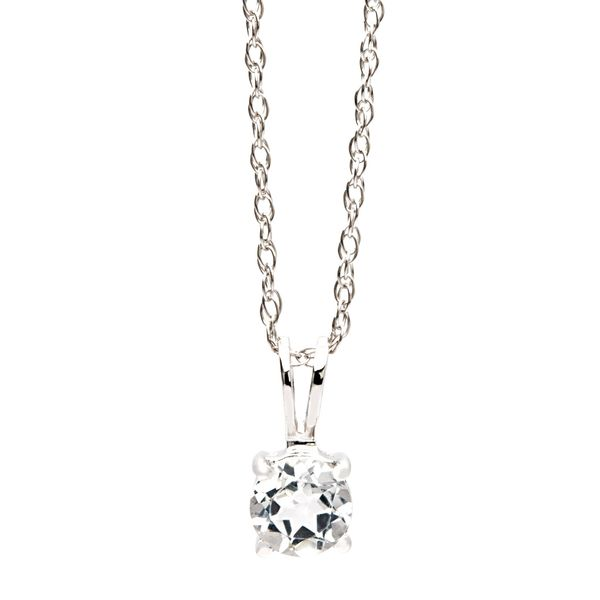 Bremer Jewelry BeColorful White Gold Gemstone Necklace Bremer Jewelry Peoria, IL
