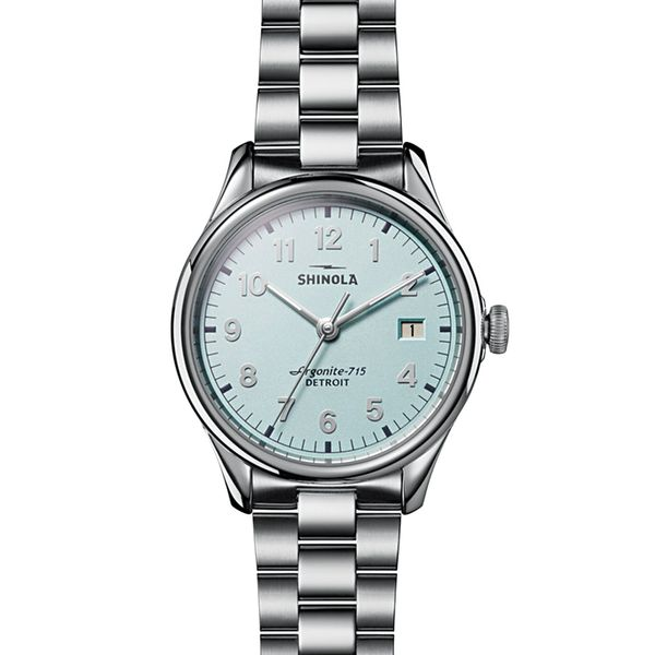 Shinola The Vinton Stainless Steel Watch Bremer Jewelry Peoria, IL