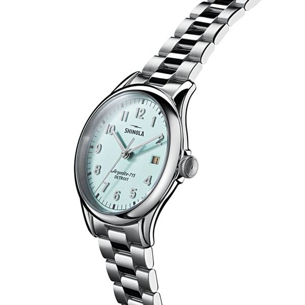 Shinola The Vinton Stainless Steel Watch Image 2 Bremer Jewelry Peoria, IL