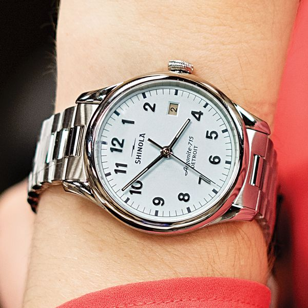 Shinola The Vinton Stainless Steel Watch Image 4 Bremer Jewelry Peoria, IL