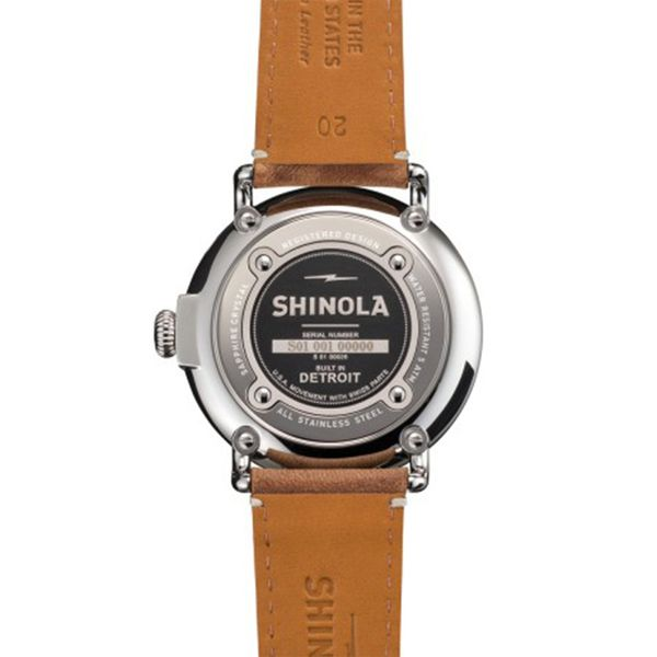 Shinola The Runwell 41mm Stainless Steel Watch Image 3 Bremer Jewelry Peoria, IL