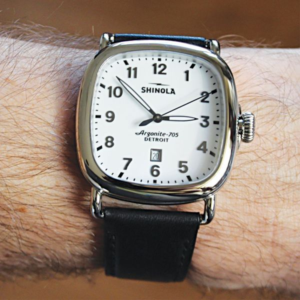 Shinola The Guardian Stainless Steel Watch Image 3 Bremer Jewelry Peoria, IL