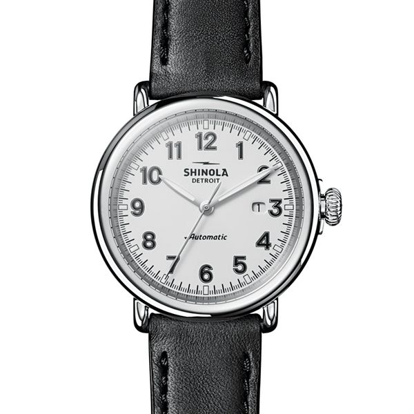 Shinola The Runwell Automatic Stainless Steel Watch Bremer Jewelry Peoria, IL