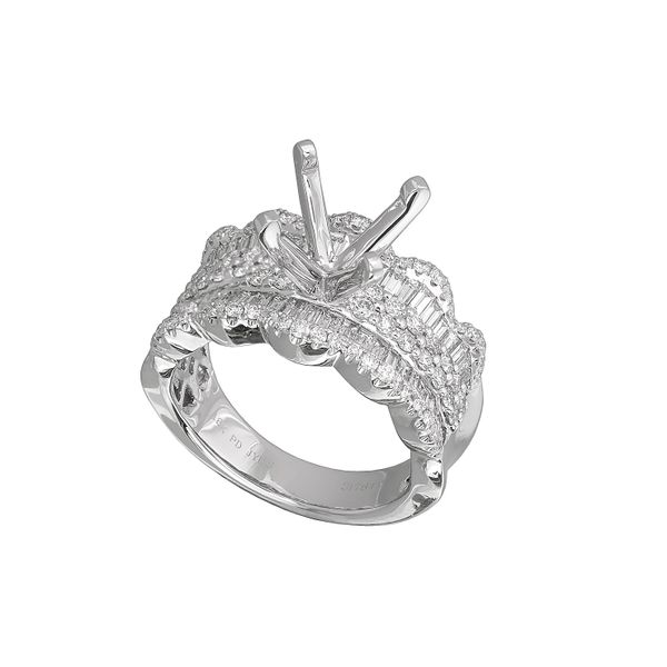 Diamond Semi-Mount Ring 1.09ctw Clater Jewelers Louisville, KY
