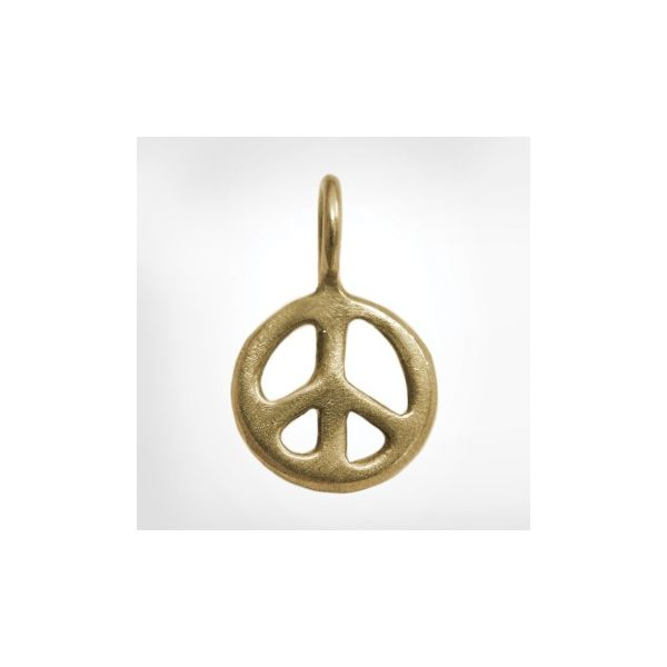 Heather Moore Large Gold Peace Sign Skaneateles Jewelry Skaneateles, NY